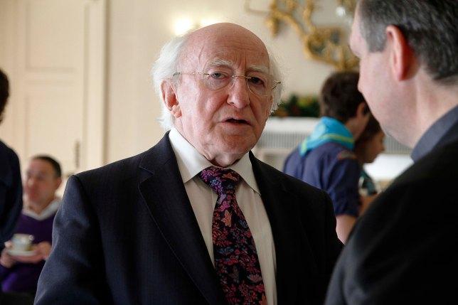 President Michael D. Higgens