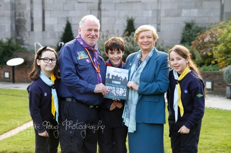 Scouting Ireland Vision 2020 Launch Minister1