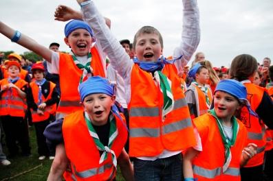 Cubs at JamÓige Scouting Ireland Event