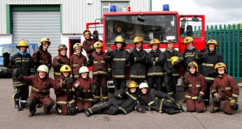 Ventact Fire Fighters Group Shot