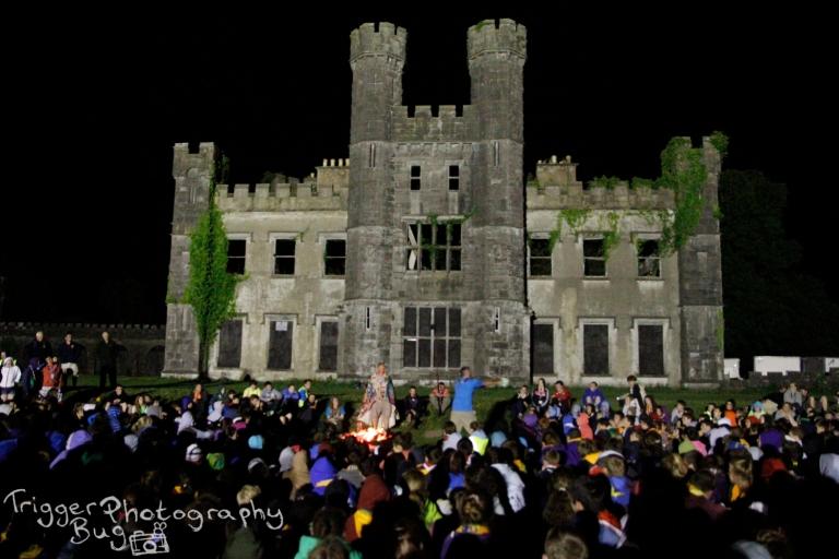 Castle Saunderson: idle campfire backdrop
