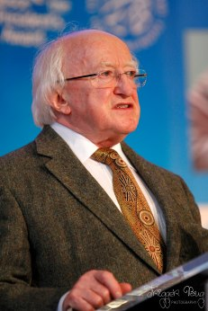 President Michael D. Higgins at Gasice 2014 Gold Awards