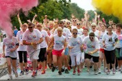 Colour Dash 2014 for Irish Cancer Society