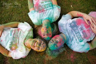 Colour Dash 2014 Participants