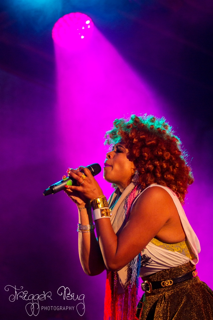 Kelis at Dublin City Block Party
